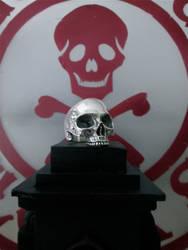 Glassjaw skull ring.