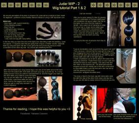 MAGI - Judar's wig Tutorial - by Yamane