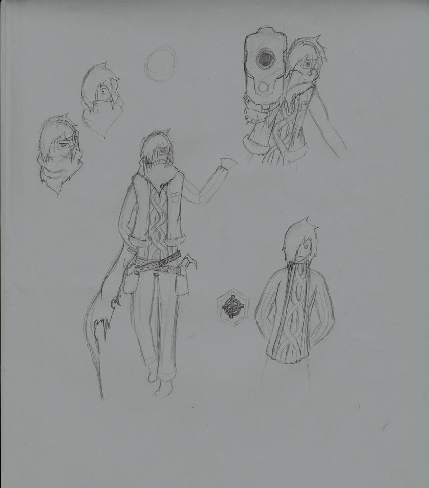 Character Report- Shinn by dragonmon24