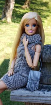 Barbie in Fall.