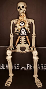 BEAUTY AND MR BONES
