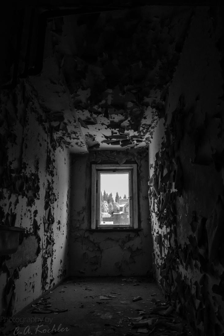 Dark Abandoned Room By Mysticmorning