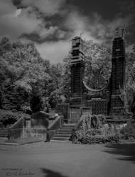 Crematorium 'Hourglass' by C-Asepsis