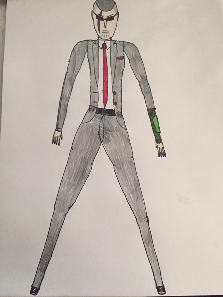John Walker's suit by Canderou
