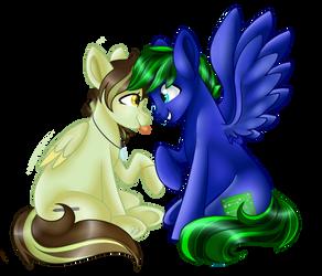 (C) Idie and Ak4neh by beashay