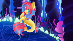 YCH Result - Stormfall Drizzle Sea Pony