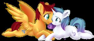 (C) Aurora and Flash by beashay