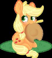 Chibi Apple by beashay