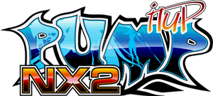 Logotipo Pump It Up NX2