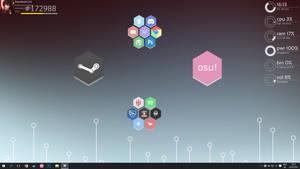 Simple Rainmeter Desktop