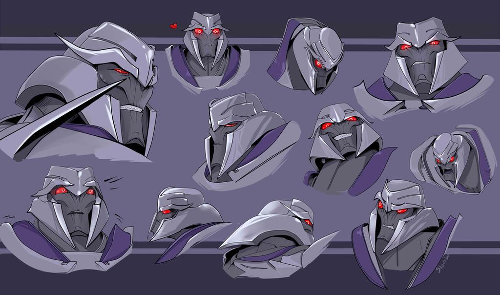 Megatron transformers prime by shamba999 on deviantart - Transformers prime megatron ...