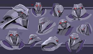 Megatron. Transformers Prime by Shamba999