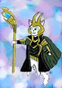 Loki cat by Kociara58