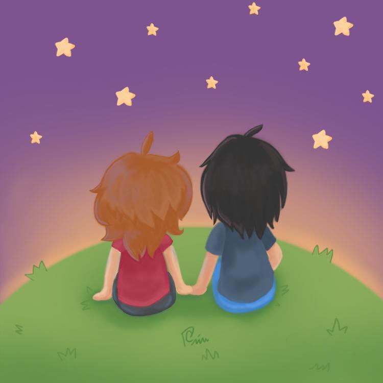 Stargazing by Hachiwara