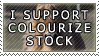 I Support Colourize-Stock