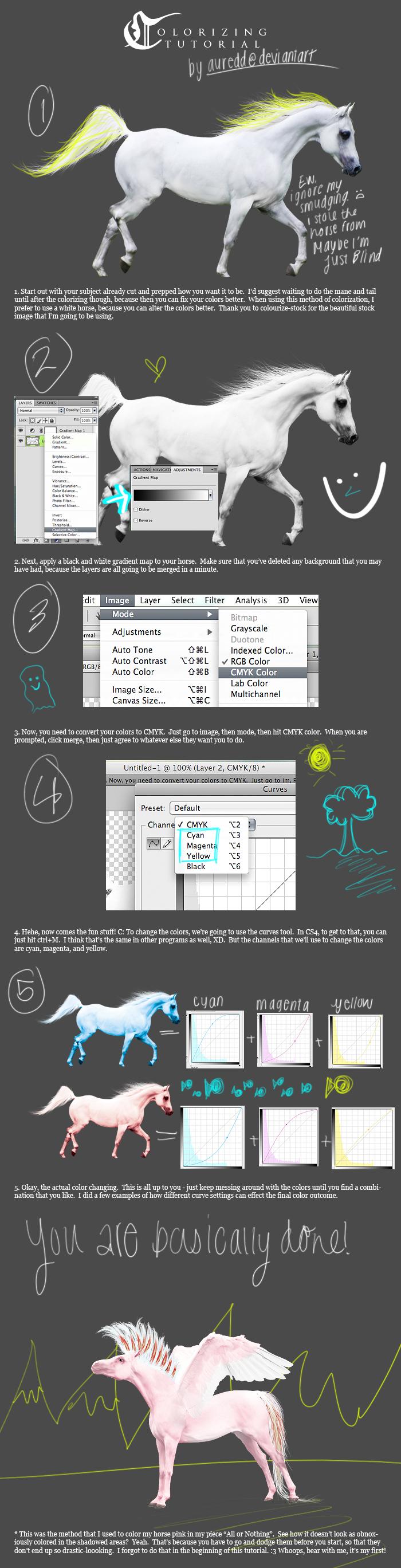 aur's colourizing tutorial