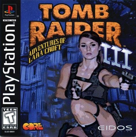 Tomb Raider 3 Box Art By Unartisticalartist On Deviantart