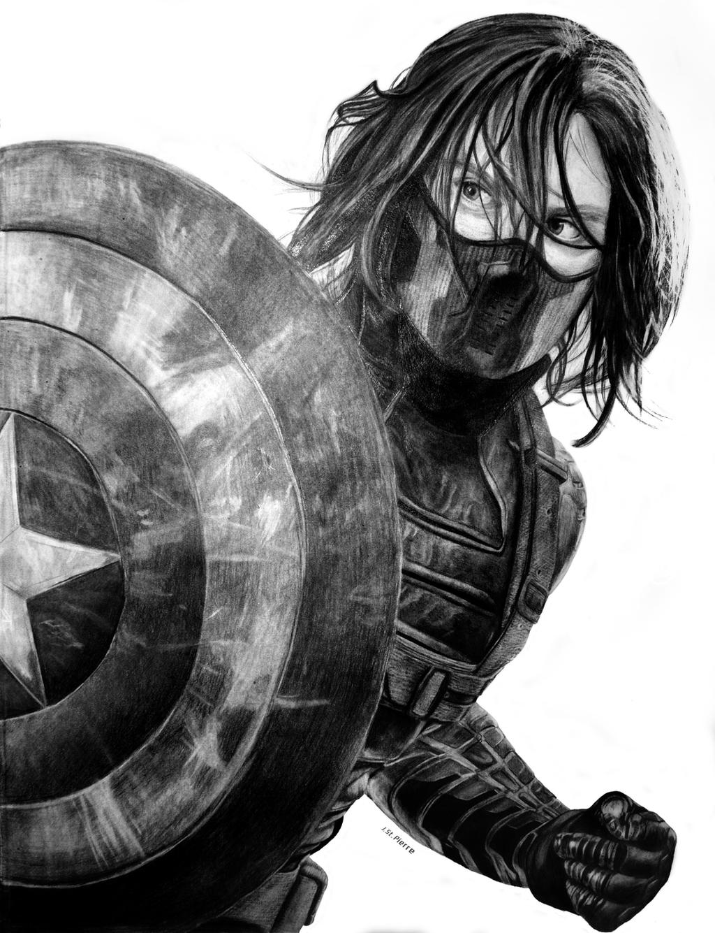 The Winter Soldier by Aquila7 on DeviantArt