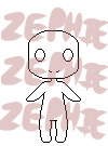 -P2U- Page Doll Base by Zephie-Cakes
