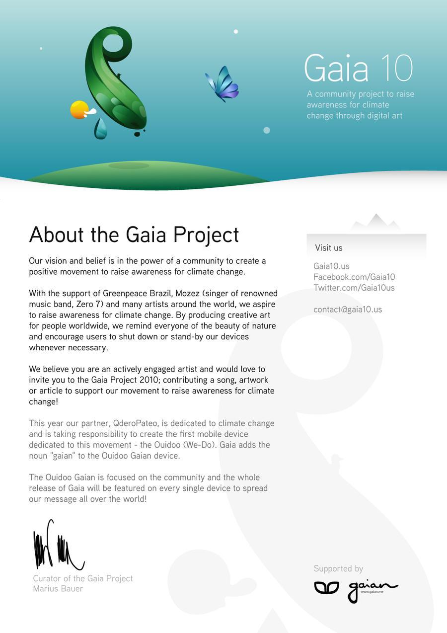 Gaia10 Invitation by imrik