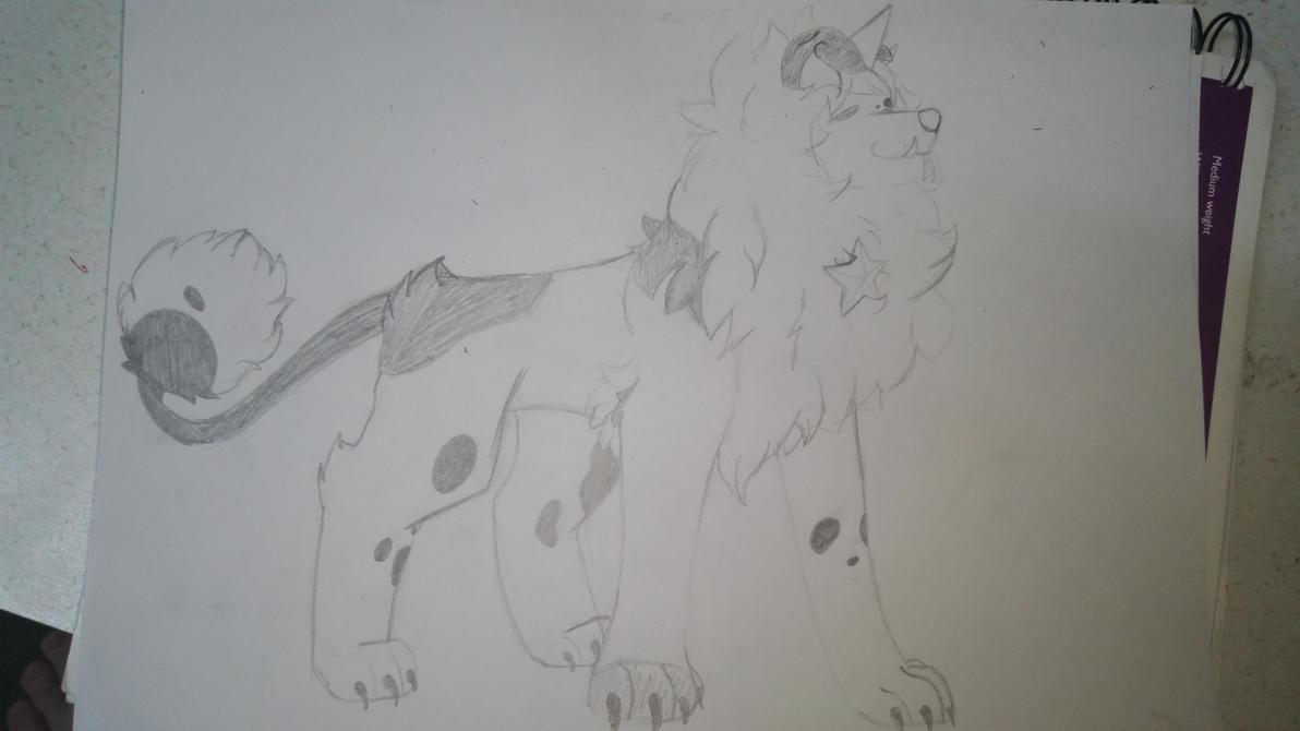 Adult dandy sketch by SkullyEllz