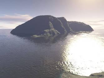Barren Island by Sinneahtes