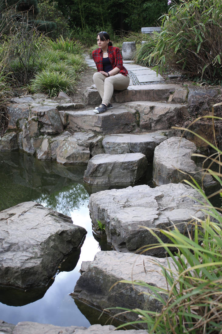 Stones through Water by LunaUrban