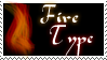Fire Type Stamp