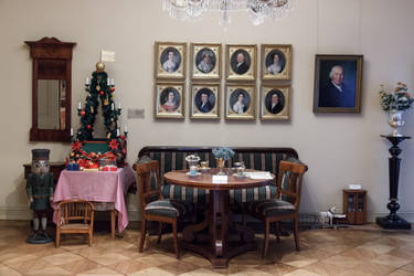Knoblauchhaus at Christmas by roseofporcelain