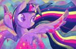 Twilight Sparkle Rainbow Power
