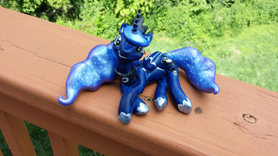 Princess Luna Sculpt by GhostlyMuse