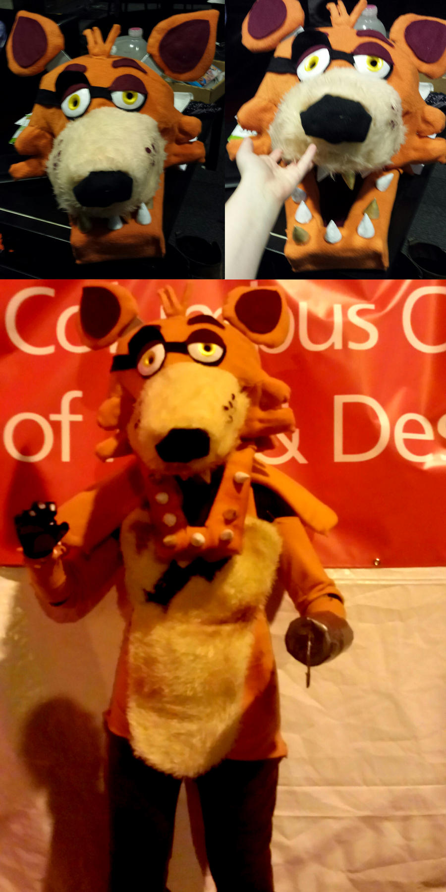 Five nights at freddys foxy cosplay by ghostlymuse on deviantart