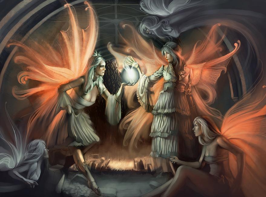 Fairy Mischief by AlexandreaZenne
