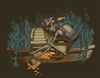 Greedy Pirate by AlexandreaZenne