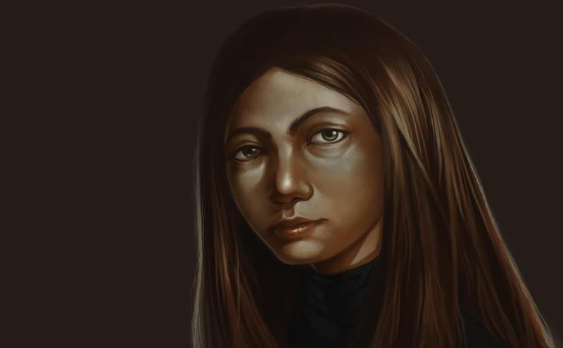Creepy Girl by AlexandreaZenne