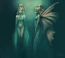 Fairy Concept Sheet by AlexandreaZenne