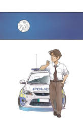 Detective Yuan by Pakeet
