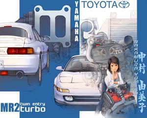 Yumiko's MR2