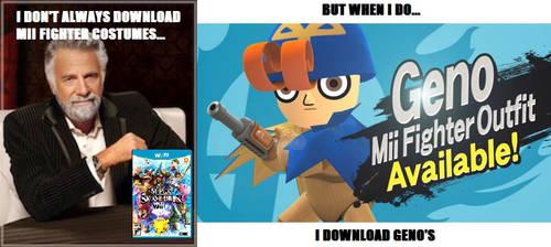 Super Smash Bros. 4 Mii Fighter Meme