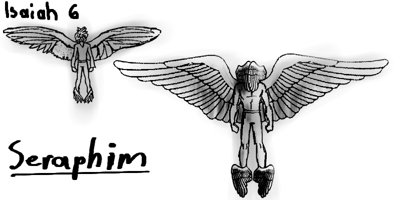 Isaiah 6 seraphim coloring pages sketch coloring page for Isaiah 9 6 coloring page