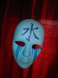 Kanji Water Mask by Moth-Nine