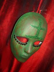 Kanji Earth Mask by Moth-Nine