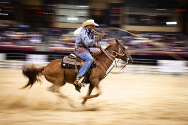 Roping Calves and Running Fast