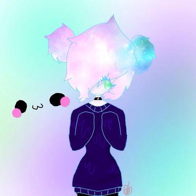 Galaxy haired by Sasukio-Uchiha