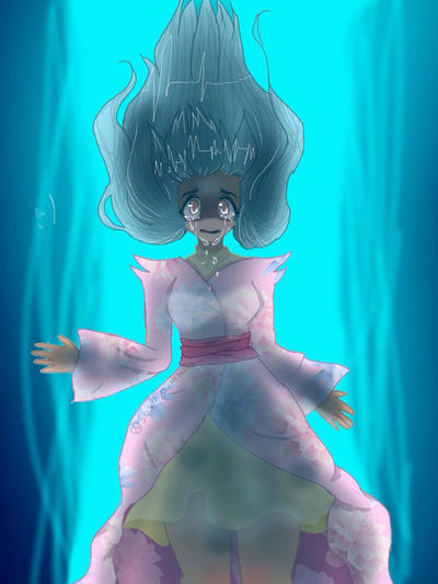Drowning Beauty by Sasukio-Uchiha