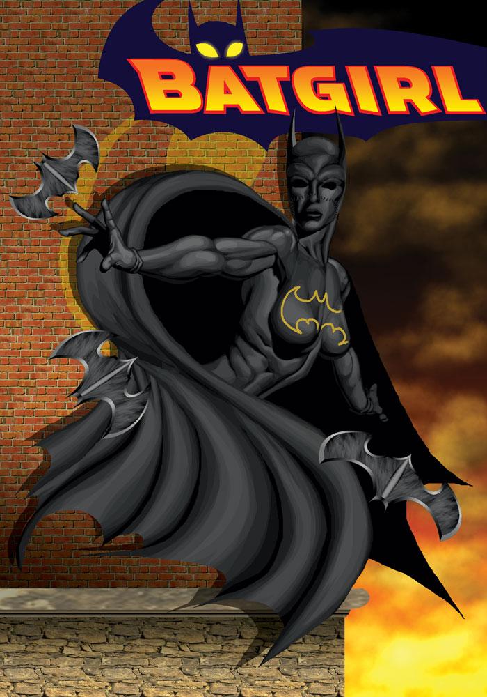 Batgirl by bolloboy