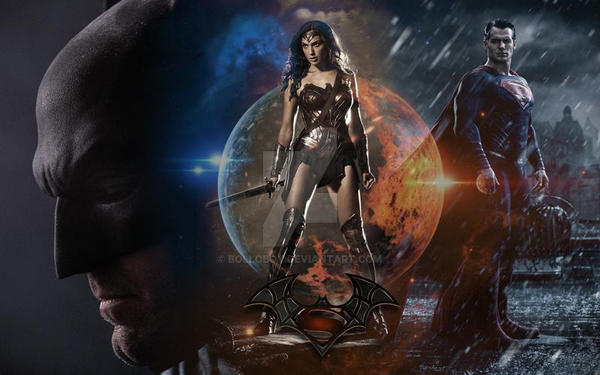 Batman vs Superman by bolloboy