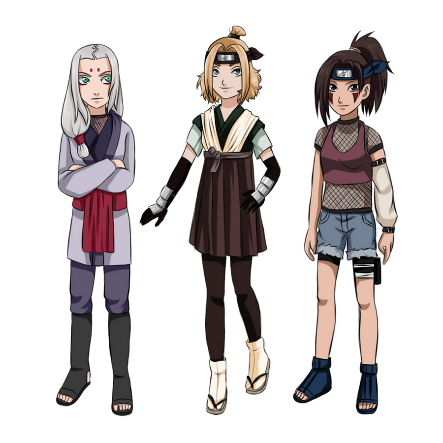 Good Naruto OC Critiques Outfit Review Of My Genin Team