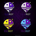 Bug Riot Logo Design