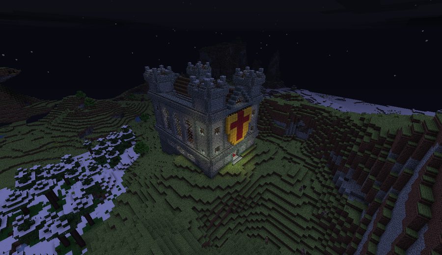 Minecraft kingdom- Part 1: The keep by Agent-Minnesota